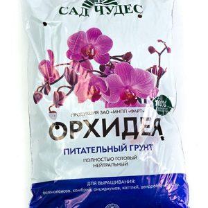 Питательный субстрат Сад чудес для орхидей изображение