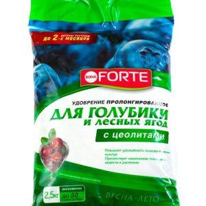 Удобрение BONA FORTE для голубики и лесных ягод с цеолитом изображение