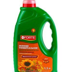 Удобрение жидкое универсальное BONA FORTE лето-осень изображение