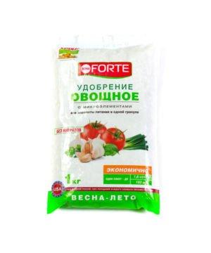 Удобрение BONA FORTE овощное 1 кг изображение