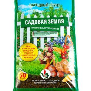 Народный грунт «Садовая земля» 50 л изображение