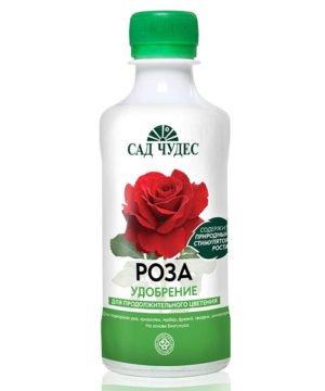 Жидкое гуминовое удобрение Сад чудес Роза изображение