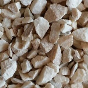 Щебень мраморный кубовидный натуральный БЕЛЫЙ изображение