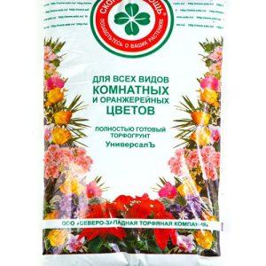 Готовый грунт Скорая помощь Универсалъ «Для всех видов комнатных и оранжерейных цветов» изображение