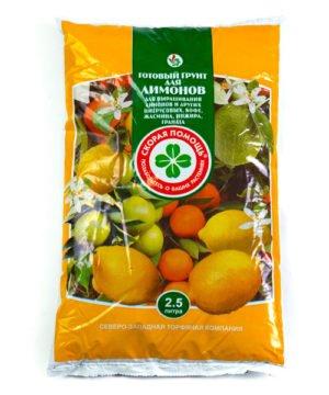 Готовый грунт Скорая помощь «Для лимонов» изображение