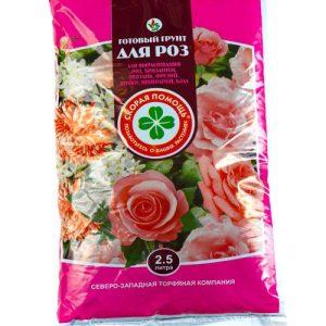 Готовый грунт Скорая помощь «Для роз» изображение