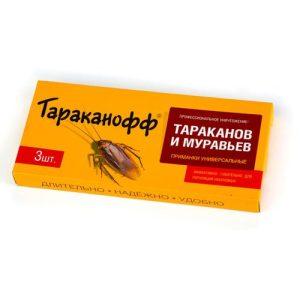 Контрудар-приманка для уничтожения тараканов и муравьев (3шт)/24 изображение