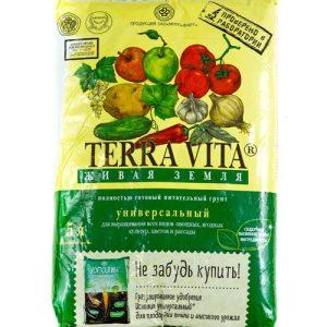 Питательный грунт Живая земля (Terra vita) универсальный 5 л изображение