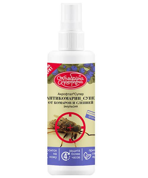 Инсектицид #АНТИКОМАРИН_СУПЕР (Акрофтал Супер от комаров и слепней) втрое изображение