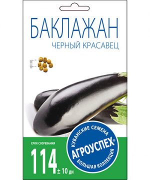 Л/баклажан Черный красавец средний *0
