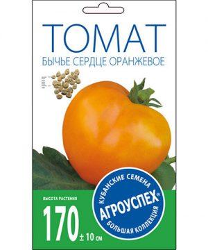 Л/томат Бычье сердце оранжевое средний И *0,1 гр  (500) изображение