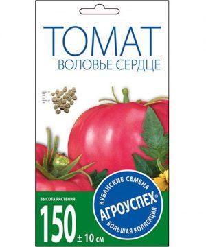 Л/томат Воловье сердце розовый средний *0,1г  (500) изображение