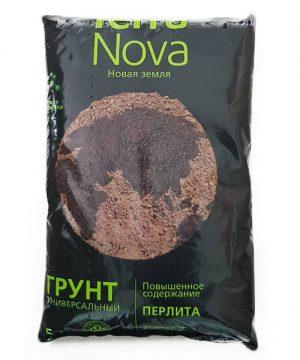 Питательный грунт универсальный Новая земля Terra Nova 5 л изображение