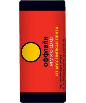 Мухофф оффлайн Лента от мух Россия, 1 шт. 120/ 1200 изображение