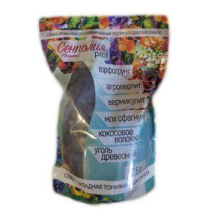 """Субстрат для СЕНПОЛИЙ (ФИАЛОК) """"PROF"""" (торфогрунт, агроперлит, вермикулит, мохсфагнум, кокосовое волокно, древесный уголь) 2,5 л изображение"""