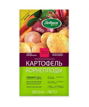 Добрая сила удобрение открытого грунта Картофель-Корнеплоды, пакет 0,9кг изображение