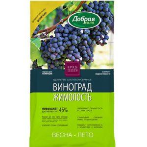 Добрая сила удобрение открытого грунта Виноград-Жимолость, пакет 0,9кг изображение