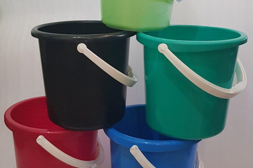 Новое поступление пластиковых хозяйственных ведер!