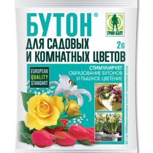 Бутон для цветов стимулятор цветения ГРИН БЭЛТ (пакет 2 г) изображение