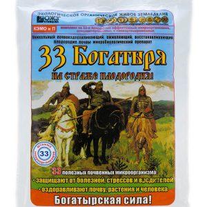 33 Богатыря почвооздаравливающий микробиологический препарат 1 л/18 шт, 5 л/4 шт изображение
