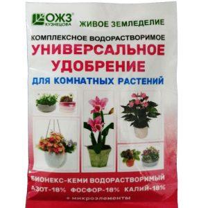 Бионекс Кеми 18:18:18 водорастворимый универсальный для комнатных растений 50 гр/36 шт изображение