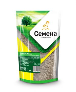 ТРАВОСМЕСЬ для участков с повышенной нагрузкой 1 кг (Германия) износостойкий газон! изображение