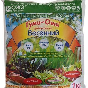 """Гуми-Оми """"Весенний"""" оргаминеральное удобоение (1 кг) изображение"""