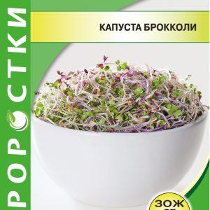 Семена Проростки Капуста брокколи изображение