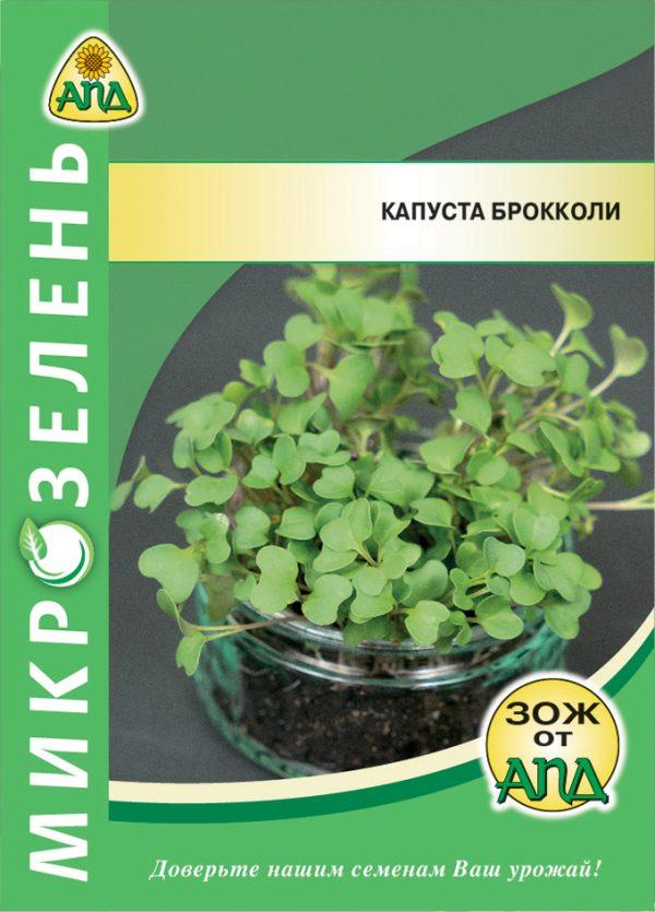 Семена Микрозелень Капуста брокколи изображение