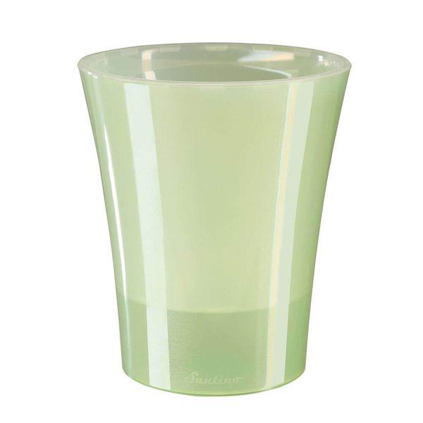 """Цветочный горшок """"АРТЕ-ДЕЯ"""" 1,25 л., 2 л. бледно-зеленый изображение"""