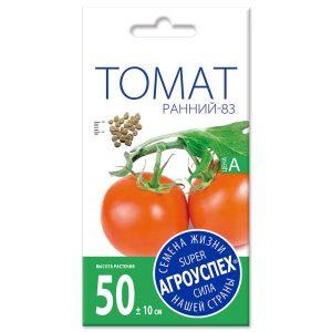 Л/томат Ранний-83 ранний Д для откр. грунта *0