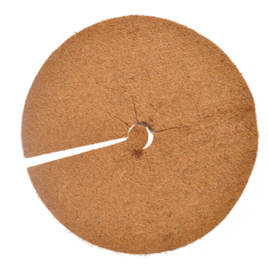 Кокосовые диски, диаметр 25 см изображение