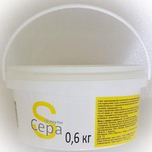 Сера гранулированная (99,99%), ведро 0,6 кг изображение
