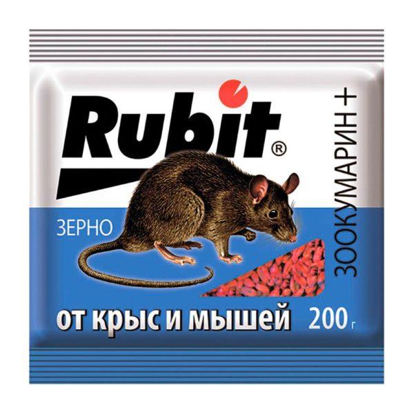 Рубит ЗООКУМАРИН+ зерно 200г (30)