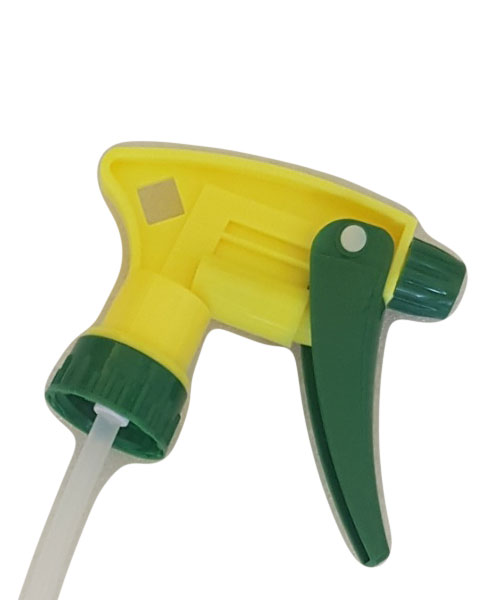 Насадка для пластиковых бутылок желто-зеленая (на 1